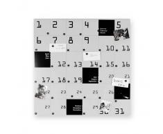 Design object Lavagna magnetica Remember colore Bianco