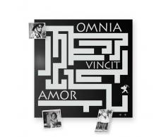 Design object Lavagna magnetica OminiaVincitAmor colore Nero
