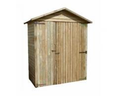BOX ATTREZZI da giardino in LEGNO Impregnato PAPILLON 191x103x220H cm