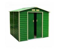 Casetta da giardino In Lamiera Blinky Mod. Giada Verde