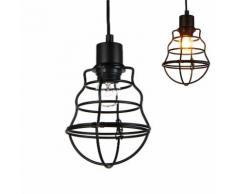 Lampada a sospensione / Vintage / Design retrò - Lampada sospesa - (attacco E27)