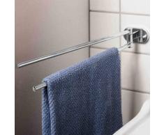 Porta asciugamani a snodo in metallo fissaggio a parete mod. Louise