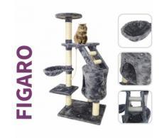 FIGARO - Albero Tiragraffi altezza 120 - col. BEIGE per Amico Gatto Cuccia Giochi cat