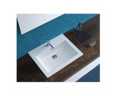 Lavabo da incasso FORTY 3 - 60 x 47 cm - cod. FO064 - GLOBO | bianco-lucido-globo-bi