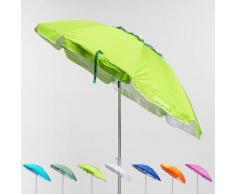 Ombrellone mare spiaggia alluminio 200 cm antivento protezione uv CORSICA | Verde