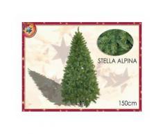 Albero Di Natale Mod. Stella Alpina Altezza 1,50mt Con 409 Rami 422135