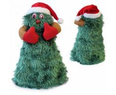 Albero di Natale che canta e balla 27cm Ø11cm Decorazione natalizia Personaggio natalizio