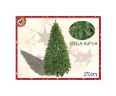 Albero Di Natale Mod. Stella Alpina Altezza 2,70mt Con 2091 Rami 422139