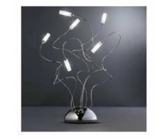 Abat-jour fb-faville 538 l g4 12v alogena dimmerabile touch control bracci modellabili lampada