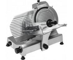 Affettatrice a Gravità - Potenza 0,18 kW - Diametro Lama Ø 220 mm - Dimensione Piano Appoggio 41x29 cm - Modello H220