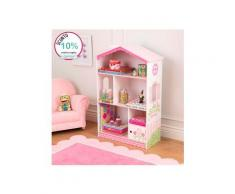 Libreria e Casetta delle bambole 2-in-1 - KidKraft