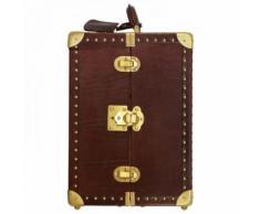 The Bridge Story Trunks portagioie scatola per gioielli pelle 24 cm