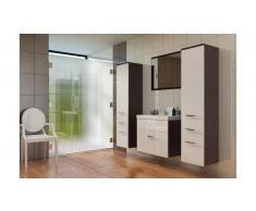 JUSTyou EVA MAX Set mobili da bagno Bianco|Wenge'