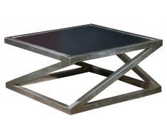 JUSTyou Acort Tavolo Nero Alluminio