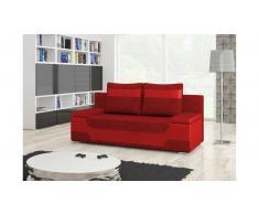 JUSTyou Area Divano Letto Rosso Rosso I
