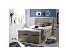 JUSTyou Albany I Letto Vi-Spring 120x200 cm Panna