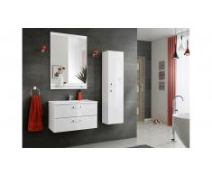 JUSTyou Laurie Set mobili da bagno Bianco