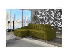 JUSTyou Conforti Divano angolare 165x270x80 cm Verde