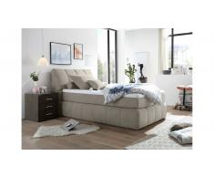 JUSTyou Pierre Letto Vi-Spring Velours 180x200 Beige