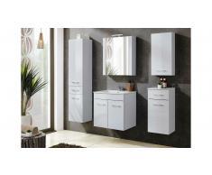 JUSTyou Grotteria Set mobili da bagno Bianco