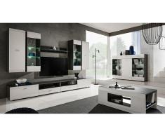 JUSTyou Mosel Mobile per soggiorno Grafite Bianco