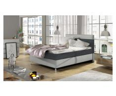 JUSTyou Cosy Letto Antracite | Bianco 120x200