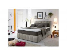 JUSTyou Pierre Letto Vi-Spring Velours 160x200 Beige