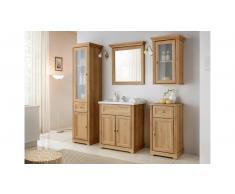 JUSTyou Alvarado Set mobili da bagno Marrone Quercia