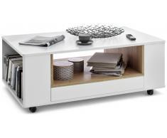 JUSTyou Arles Tavolino da salotto Bianco opaco