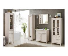 JUSTyou Agira Set mobili da bagno Bianco