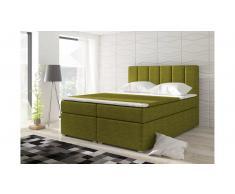 JUSTyou Bolero Letto Vispring 126x160x200 cm Verde
