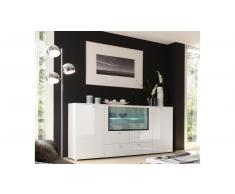 JUSTyou Palermo Credenza Bianco | Bianco extra lucido