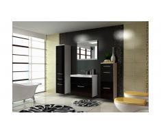 JUSTyou EVA STANDARD Set mobili da bagno Nero|Bianco