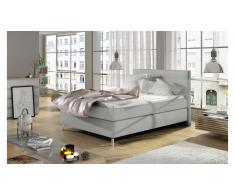 JUSTyou Cosy Letto Vi-Spring Bianco Velours 120x200