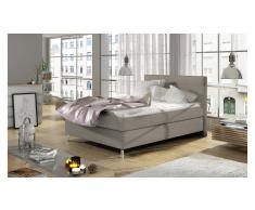 JUSTyou Cosy Letto Vi-Spring Beige Velours 120x200