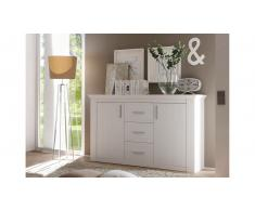 JUSTyou Galaxis Credenza Pino comune | Bianco