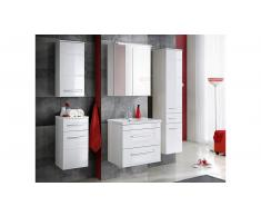 JUSTyou Alanya Set mobili da bagno Bianco