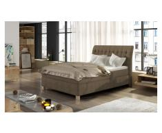 JUSTyou Happy Letto Marrone Pelle sintetica 140x200