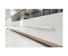 JUSTyou Nidda Mobile per soggiorno Rovere Bianco
