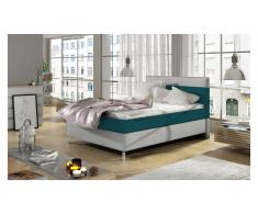 JUSTyou Cosy Letto Turchese | Bianco 120x200