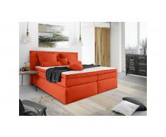JUSTyou Lansing Letto Vi-Spring 140x200 cm Arancione