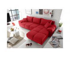 Divano Letto Angolare Rosso.Divani Angolari Color Rosso Da Acquistare Online Su Livingo