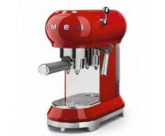 SMEG Macchina da caffè rosso Estetica Anni '50