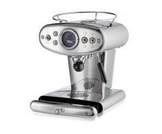 Illy Macchina Del Caffe Capsule Iperespresso Home X1 Inox Anniversary E&c + Omaggio Capsule