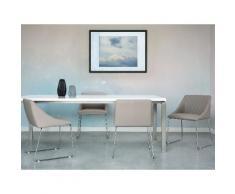 Sedia per sala da pranzo, grigio ARCATA