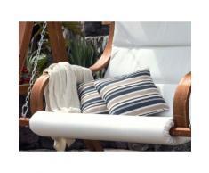 Cuscino decorativo da giardino con le strisce colorate 40 x 40 cm