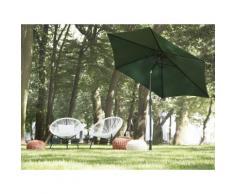 Ombrellone da giardino color verde 270 cm VARESE