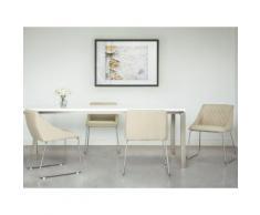 Sedia da pranzo in colore beige ARCATA