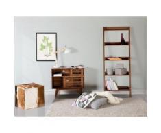 Credenza da soggiorno in legno marrone - CLEVELAND