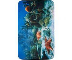 Tappetino per bagno Reef in memory foam (Blu) - bpc living
